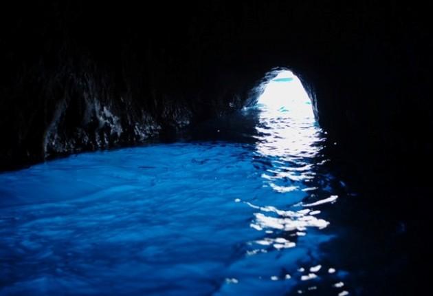 Gruta Azul, Itália