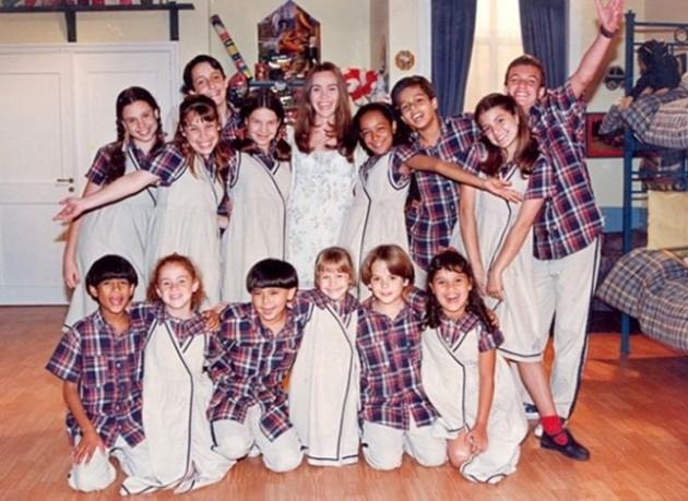 Chiquititas ( Essa foi a primeira versão com homens no orfanato :D)