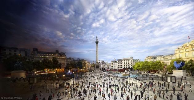 Praça de Trafalgar, London