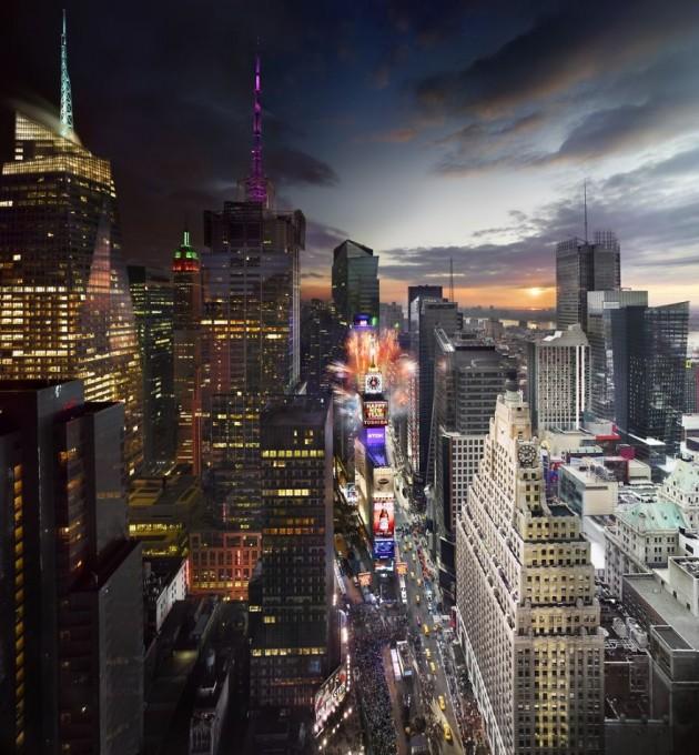 Times Square, Reveillon