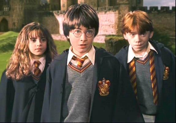Acompanhou toda a saga do Harry Potter.