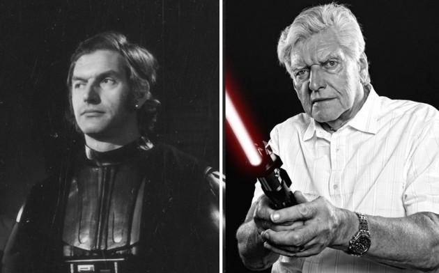 David Prowse era Darth Vader, 1977 e 2015