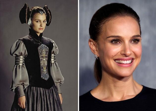 Natalie Portman era Padmé Amidala, 2003 e 2015