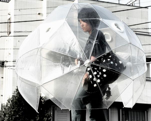 #11 - Conceito de guarda-chuva incrível.