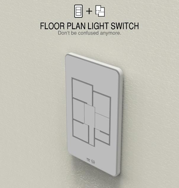 Apague e acenda as luzes dos cômodos da sua casa.