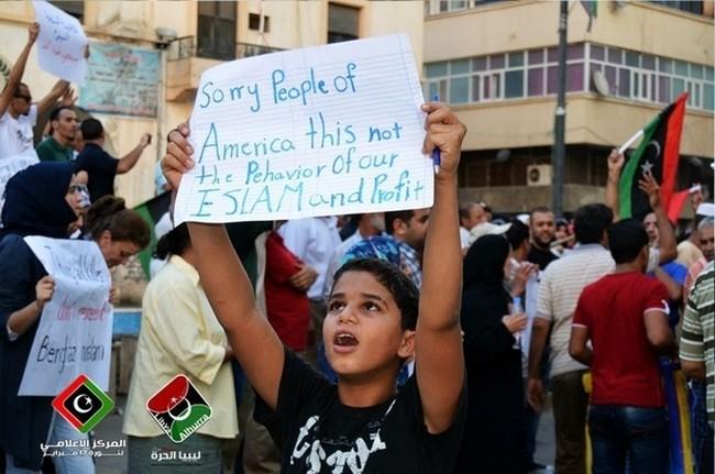 """""""Desculpe, povo dos EUA, esse não o comportamento do islamismo """""""