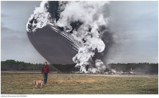 Hindenburg - Lakehurst New Jersey 1937 / 2004