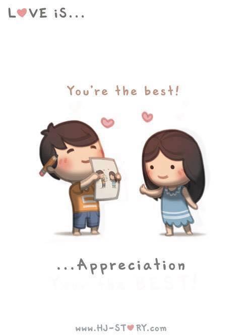 Você é minha melhor apreciação.