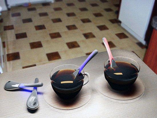 #11 - Colher para medir a temperatura do café