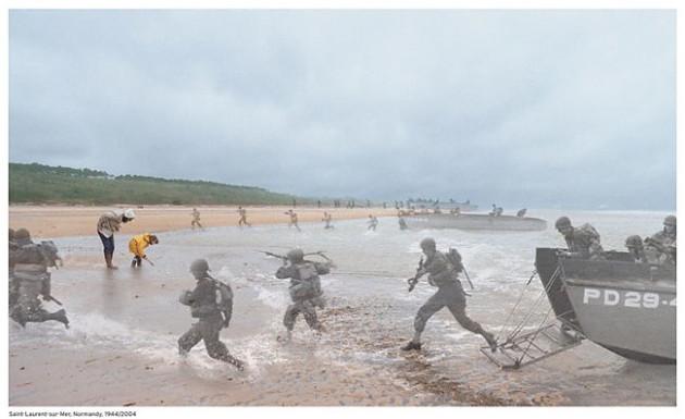 D-Day - Normandy Beach 1944 / 2004