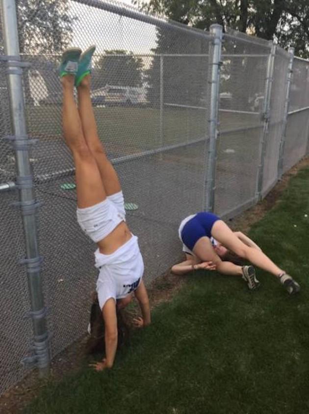 As que sabem fazer yoga