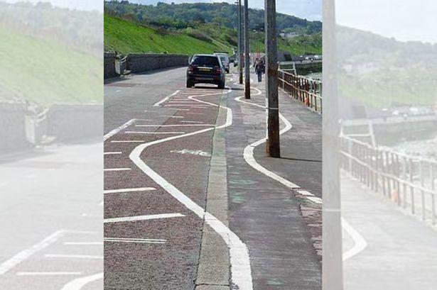 Colwyn-Bay-cycle-lane