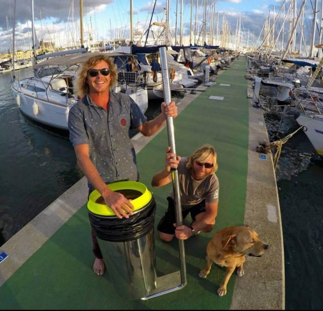 Criativos australianos criam filtro para tirar o lixo da água do mar 3