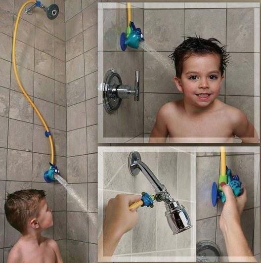 Tomar banho nunca foi tão divertido com esse produto.