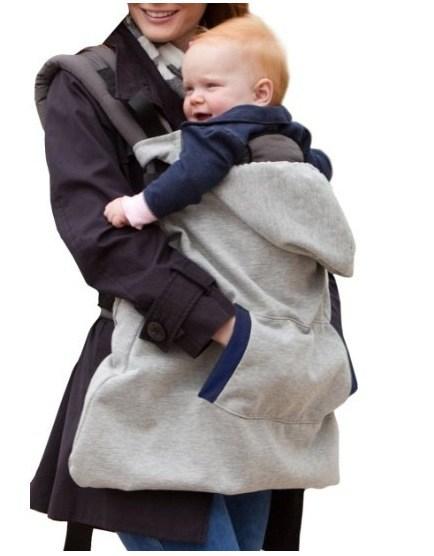 Para carregar seu filho no frio
