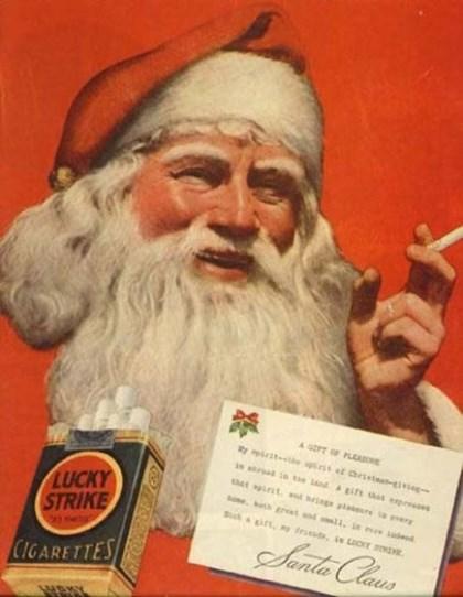 Carta do papai noel a todos os fumantes
