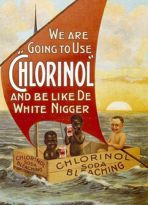 Nós iremos usar Chlorinol e ficar como o nigger branco