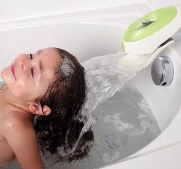 #9 - Facilitando para dar banho nas crianças.