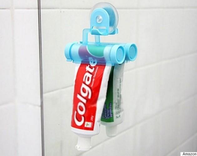 #3 - Facilitando sua vida na hora de tirar o creme dental.