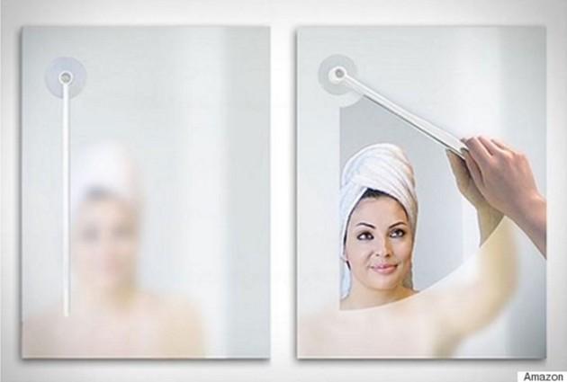 #6 - Limpador de espelho embaçado