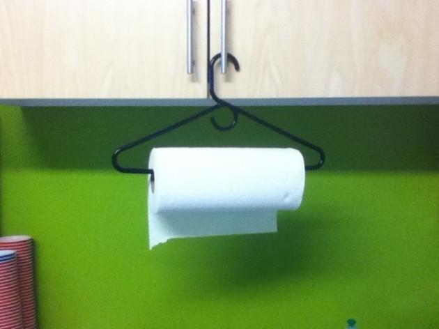 #2 - Método prático pra você guardar papel toalha na sua cozinha