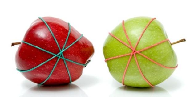#13 - Depois de cortar as frutas, deixe em um elástico para que ela não se solte e consequentemente murche