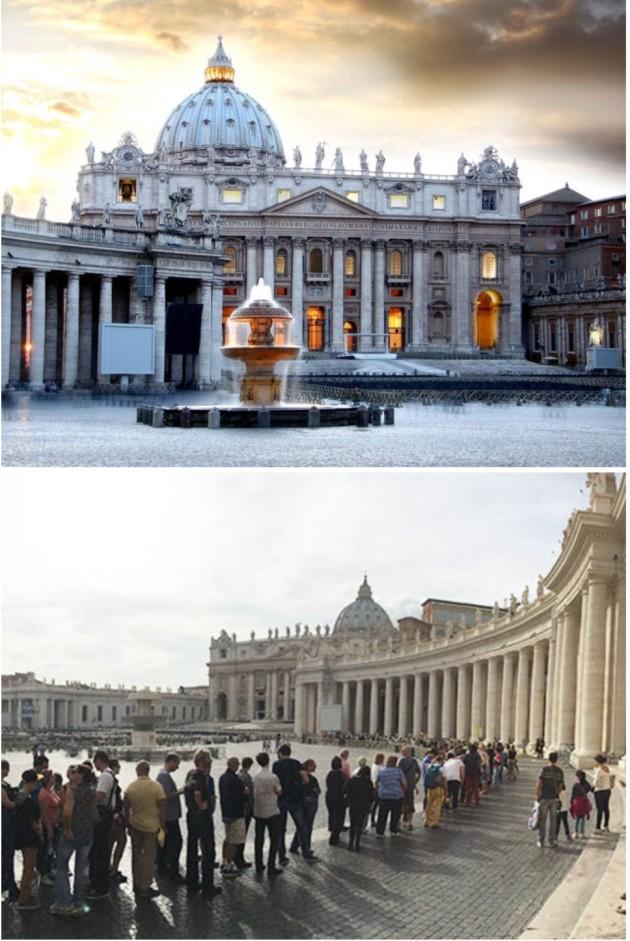 Basílica de São Pedro, Estado do Vaticano