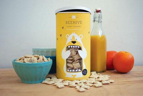 beehive-honey-squares