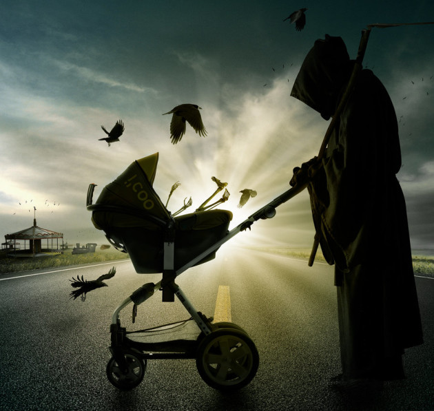 death__s_day_out_with_his_son_by_pshoudini-d4etehs