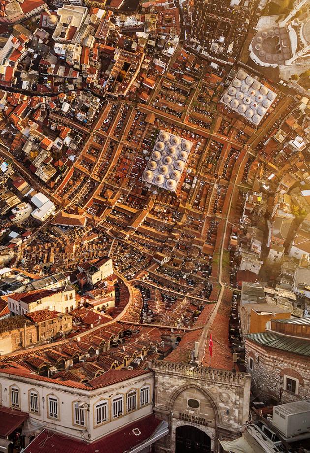Designer manipula imagens de cidades como se elas pudessem ser dobradas 1