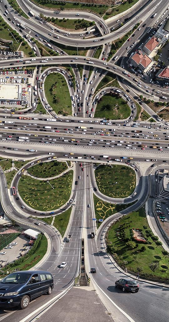 Designer manipula imagens de cidades como se elas pudessem ser dobradas 6