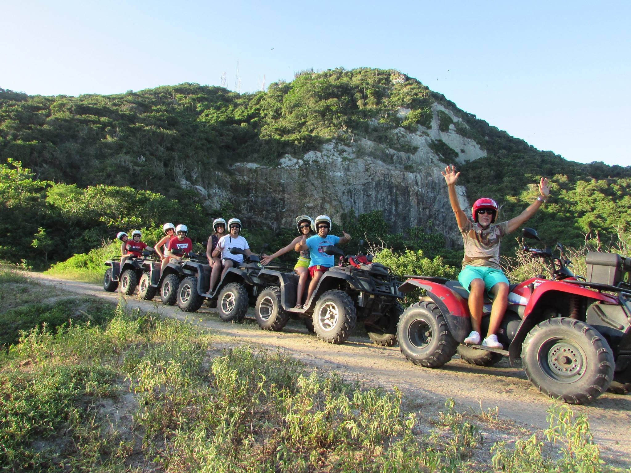 Quadriciclo em Arraial do Cabo