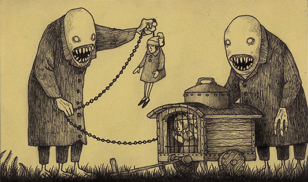 creepy-childhood-monsters-sticky-notes-don-kenn-18