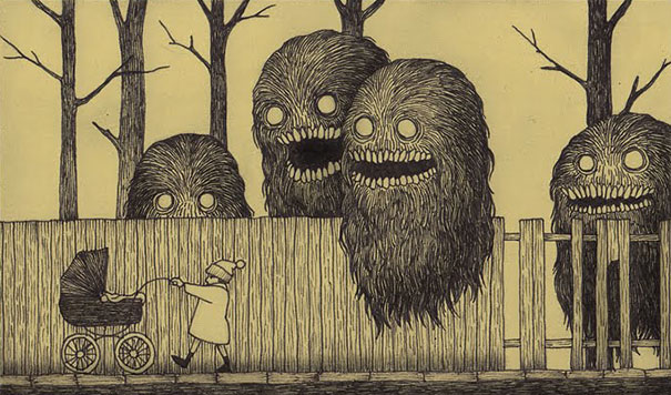 creepy-childhood-monsters-sticky-notes-don-kenn-3