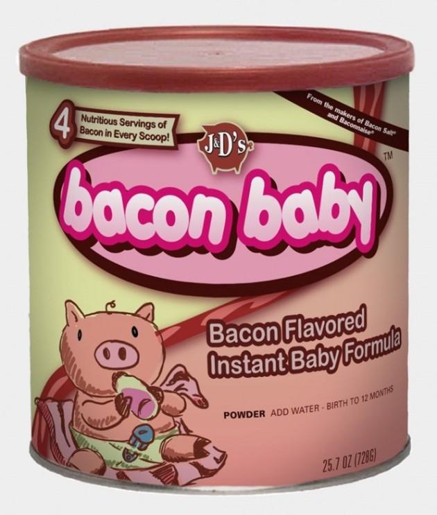 Mistura para leite de Bacon