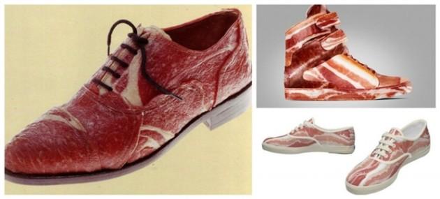 Sapato de bacon
