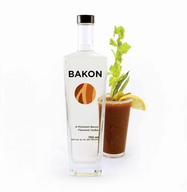 Vodka de bacon