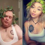 Pai recria bizarramente selfies da filha e vira sucesso nas redes sociais 2
