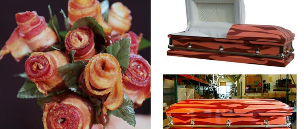 Produtos bizarros inspirados em bacon