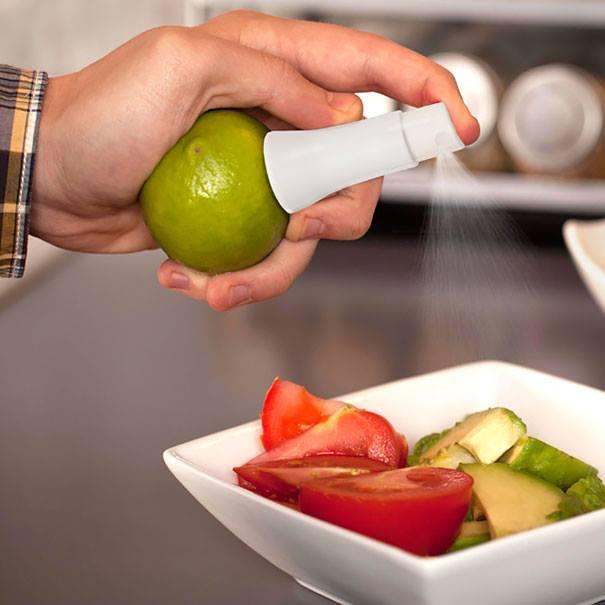 #21 - Spray para colocar em frutas.