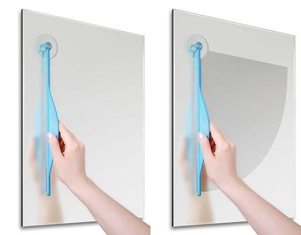 #19 - Limpador de vidro embaçado.