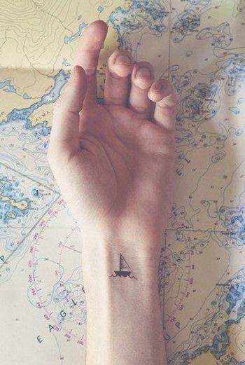 28 Ideias de tatuagens extremamente delicadas e criativas 13