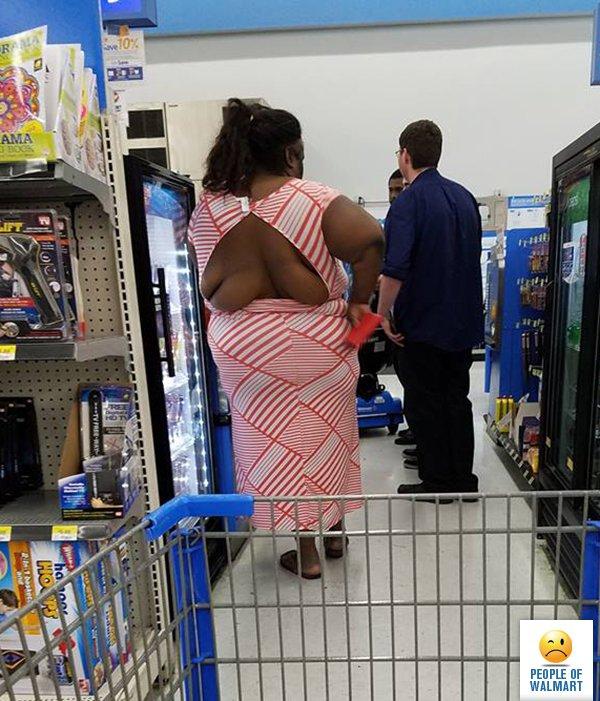 pessoas bizarras no super mercado 8