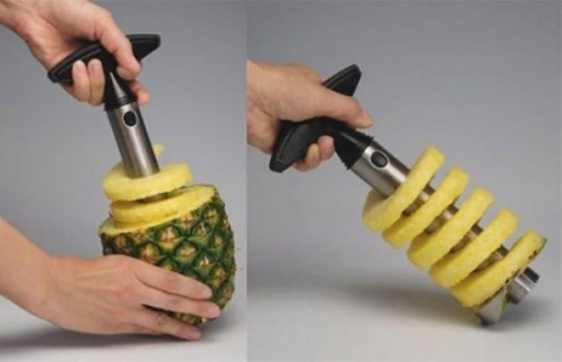#1 - Descascador de abacaxi.