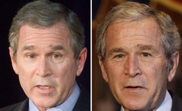 George W. Bush 2001/2008