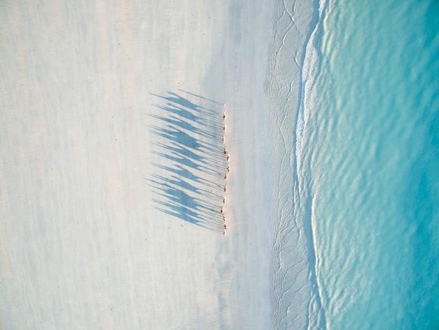Cable Beach - Austrália. Foto por: Todd Kennedy