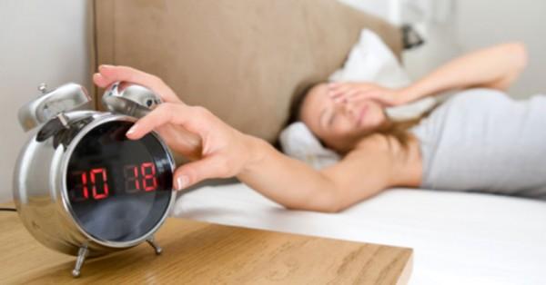 Poder acordar mais tarde e sem despertador