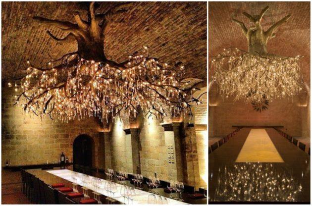Já imaginou ter uma verdadeira árvore iluminando seu ambiente?