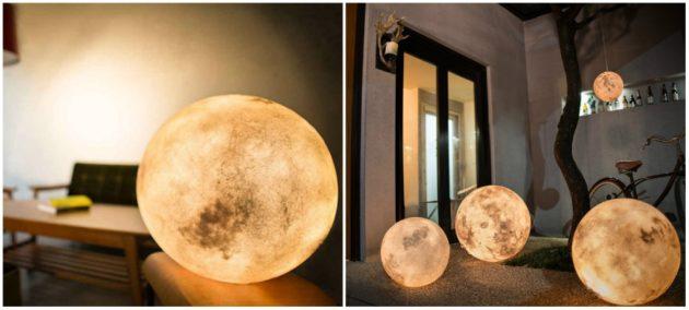 Já imaginou ter uma lua dentro de casa?