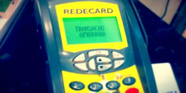 Quando a maquina de cartão de crédito demora mas dá transação aprovada.
